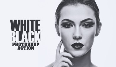 Black & White Stylish fashion Photoshop Action Free Download