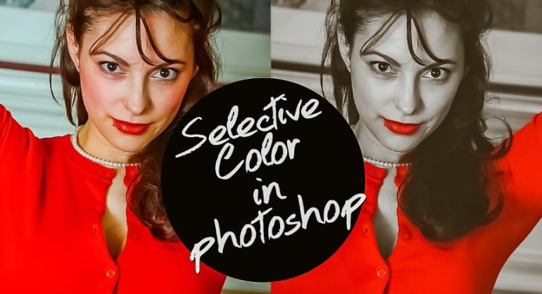 How to Selective Color Image Isolation in photoshop tutorial