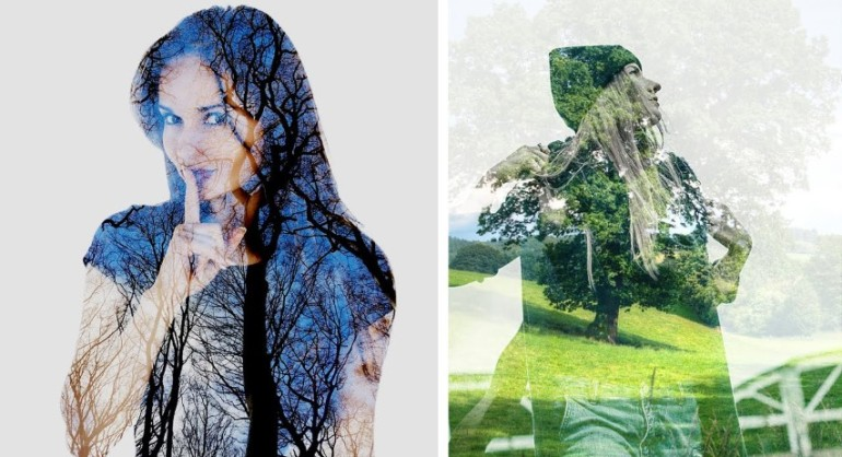 Multiple Exposure or Double Exposure in Camera tutorial