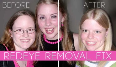 Red Eye Removal Quick Pet Eye FiX photoshop tutorial