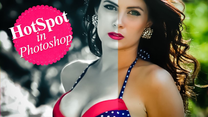 Selective Color Hot Spot in Photoshop (Small)