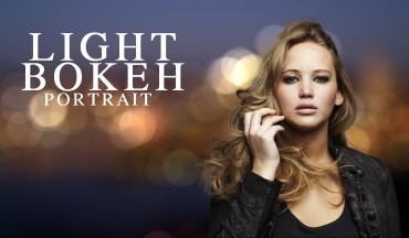 How to Create Light Bokeh Portrait in Photoshop Tutorial
