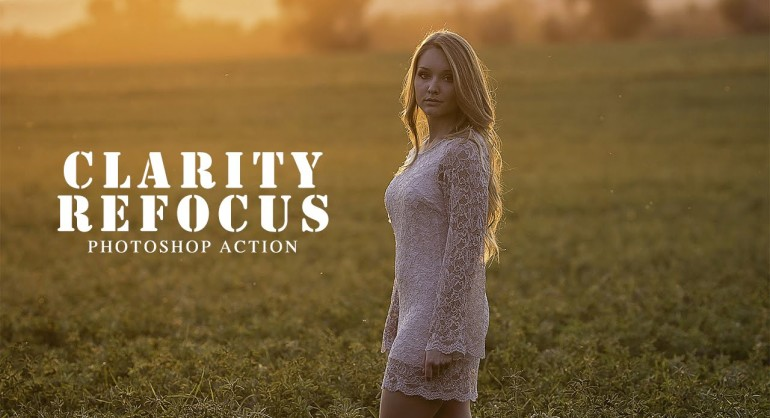 How to Get Sharp focus and Clarity Photoshop Action Free Download