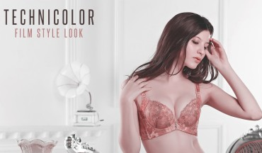 technicolor film style look photoshop action free download effect 1