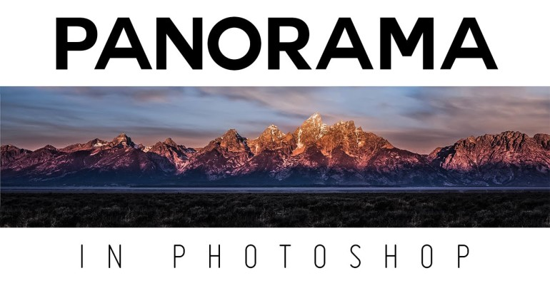 create Panorama in Photoshop Tutorial