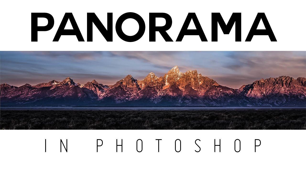 create Panorama in Photoshop Tutorial