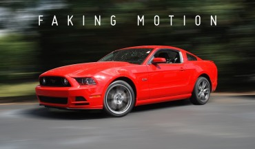 How to Create Fake Movement for Still Photographs with Motion Blur in Photoshop Tutorial