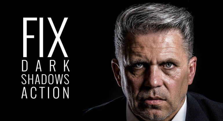 Photoshop Action Download - Fix Correct Dark Shadows for Photographers and designers