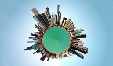 How To Transform Panorama Photo into Miniature 360° Tiny Small Planet Photography in Photoshop Tutorial