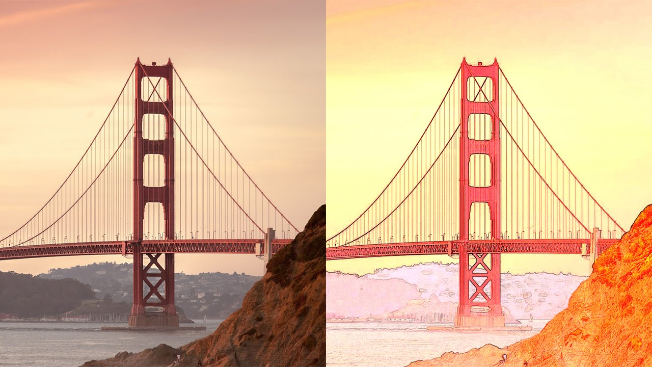 How to Convert Photography into Detailed Color Pencil Sketch Art in Photoshop Tutorial PSD