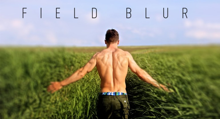How to Use Field Blur Gallery Filter in Photoshop for Depth Of Field Effect Tutorial
