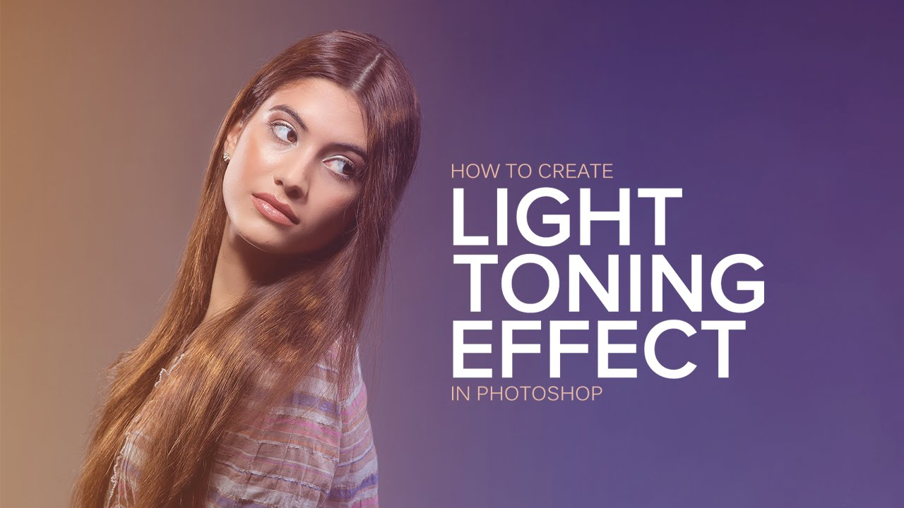 How to Create Color Light Toning Effect to Portraits in Photoshop