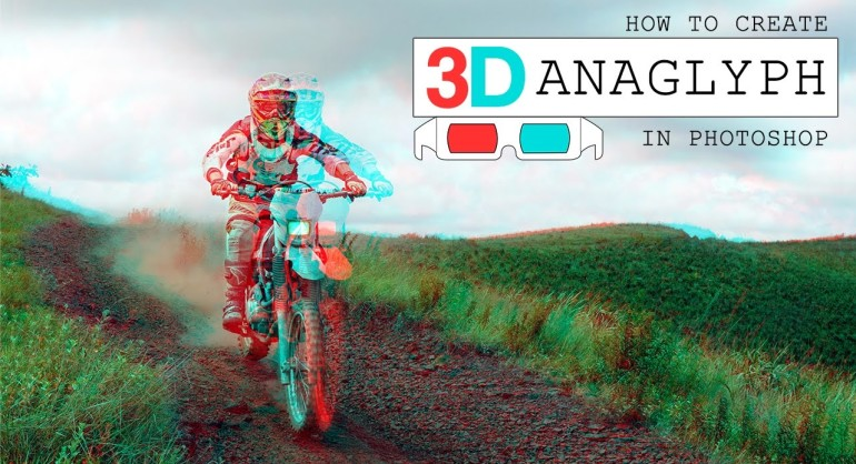 How To Transform Photo into Red & Cyan Anaglyph 3D Effect in photoshop