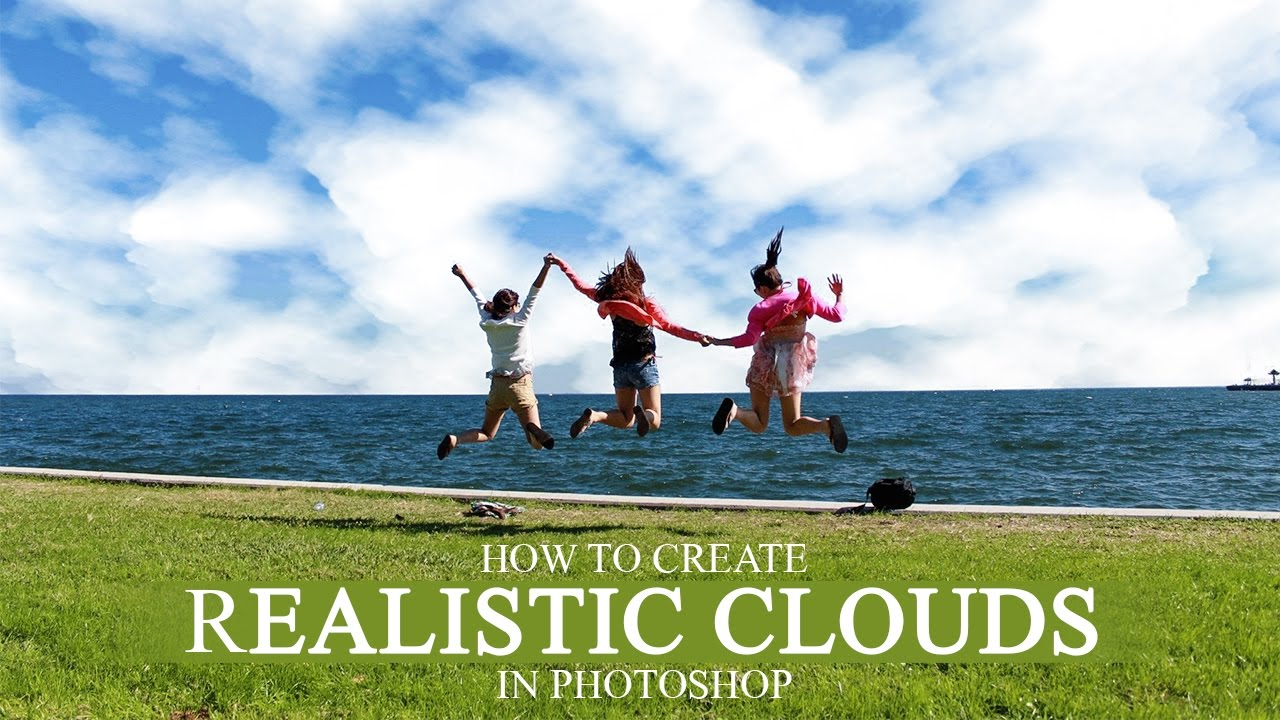 How to Create Realistic 3D Clouds in Photoshop