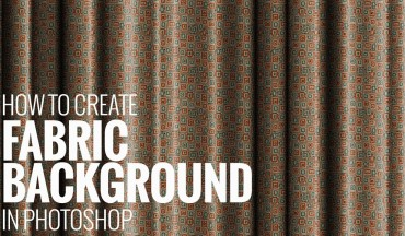 How to Create Satin Lenin Fabric Folds Background Pattern in Photoshop
