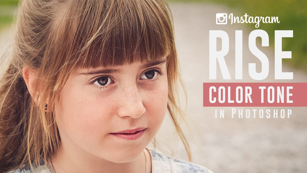 Camera Raw : How to Create Instagram Rise Color Toning Effect in Photoshop