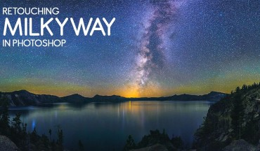 How to Create Vivid Light Milky Way photograph in Photoshop with Camera Raw Filter