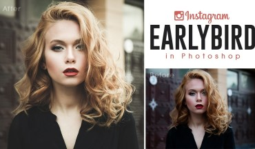How to Create Instagram Earlybird Color Effect in Photoshop