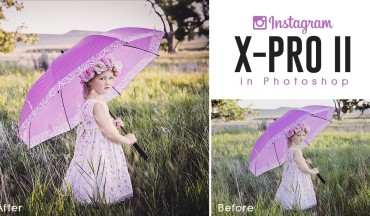 Instagram X-Pro II Color Grade Effect in Photoshop