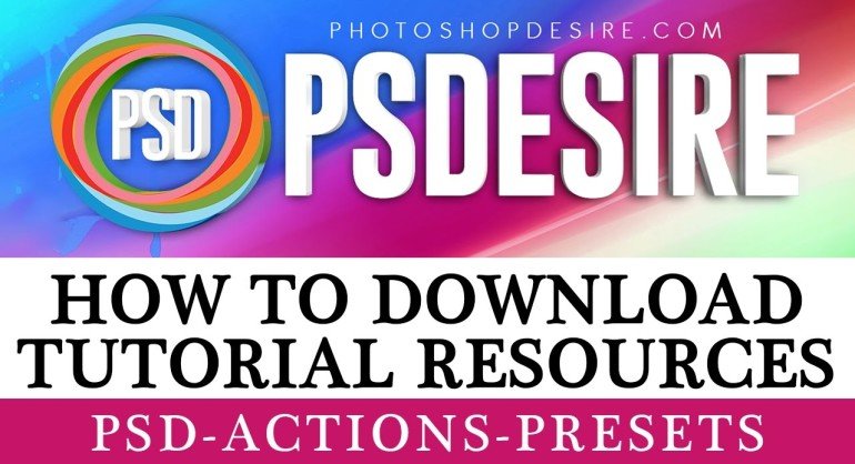 How to Download Tutorial Resources [From this site]