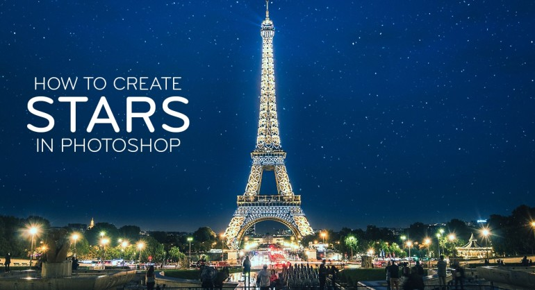How to Create Stars to Night Photo in Photoshop