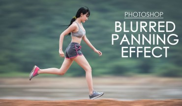 How to Create Blurred Panning Effect in Photoshop