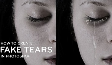 How to Create Fake Tear Drops Manipulation in Photoshop