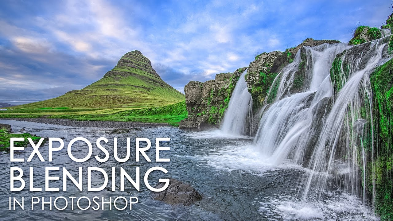 Manual Exposure Blending Technique in Photoshop for Landscapes