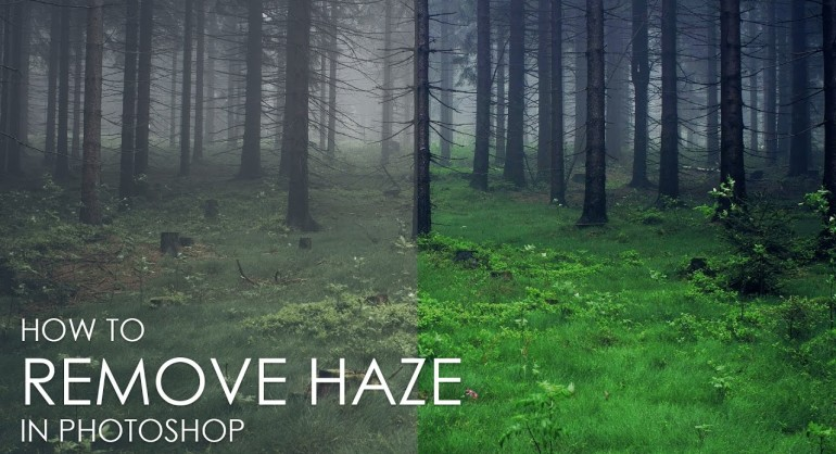 How to Remove Haze from Photo without Filters in Photoshop
