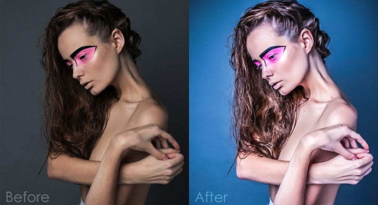 How to create HDR Fashion Portrait Effect in Photoshop