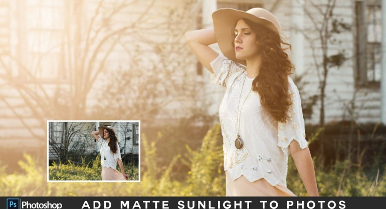 How to Add Sunlight to Photos with Gradient Fill in Photoshop