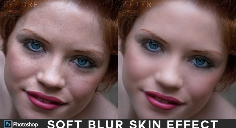 Simple Skin Smoothing with Soft Blur Effect in Photoshop