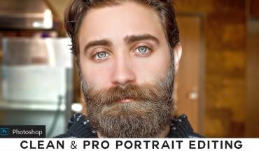 Clean & Pro Portrait - Photoshop Photo Editing Tutorial
