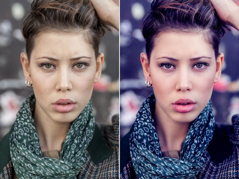 How to Create Fashion Color Tone and Retouch Portrait in Photoshop
