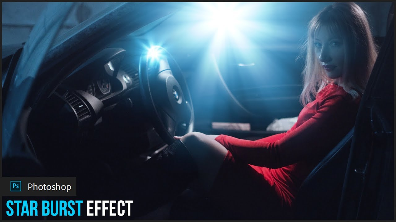 How to Create Realistic Starburst (Lens Flare) Effect in Photoshop