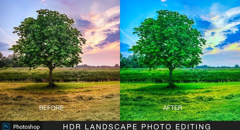 How to Edit a Landscape Photo using Camera Raw in Photoshop