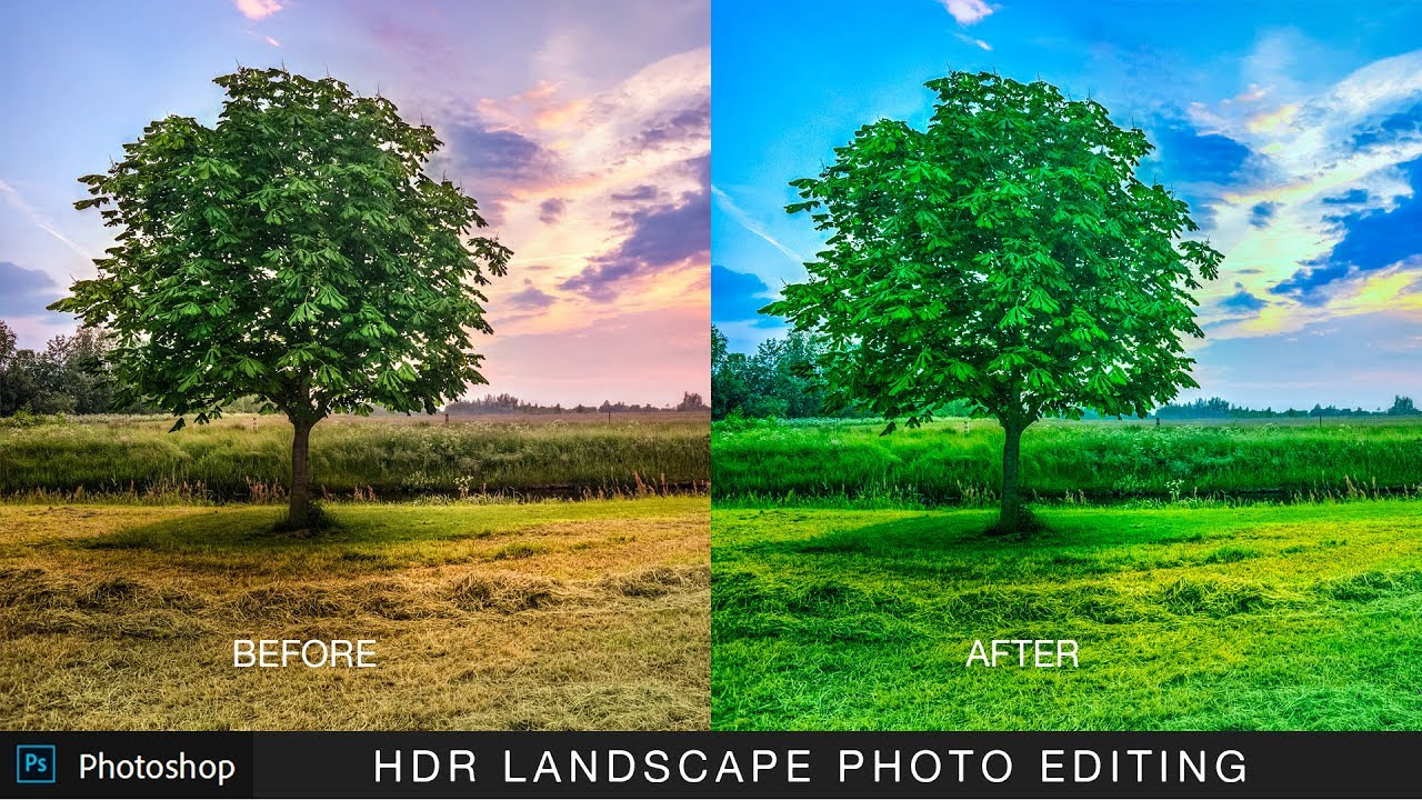 How to edit landscape photo using camera raw in photoshop psdesire baditri Gallery