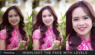 How to Highlight Face or Subject Using Levels Adjustment in Photoshop