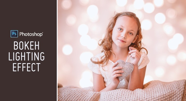 How to Add Lighting Bokeh Background to Photos in Photoshop
