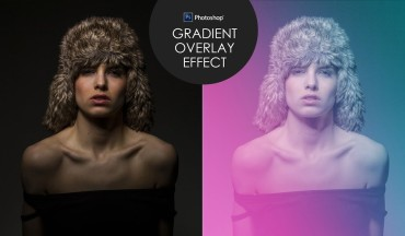 How to Create Colorful Gradient Overlay Effect in Photoshop