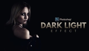 How to Create Dark Light Effect Portraits in Photoshop