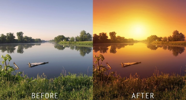 How to Create Realistic Sunset Effect in Photoshop