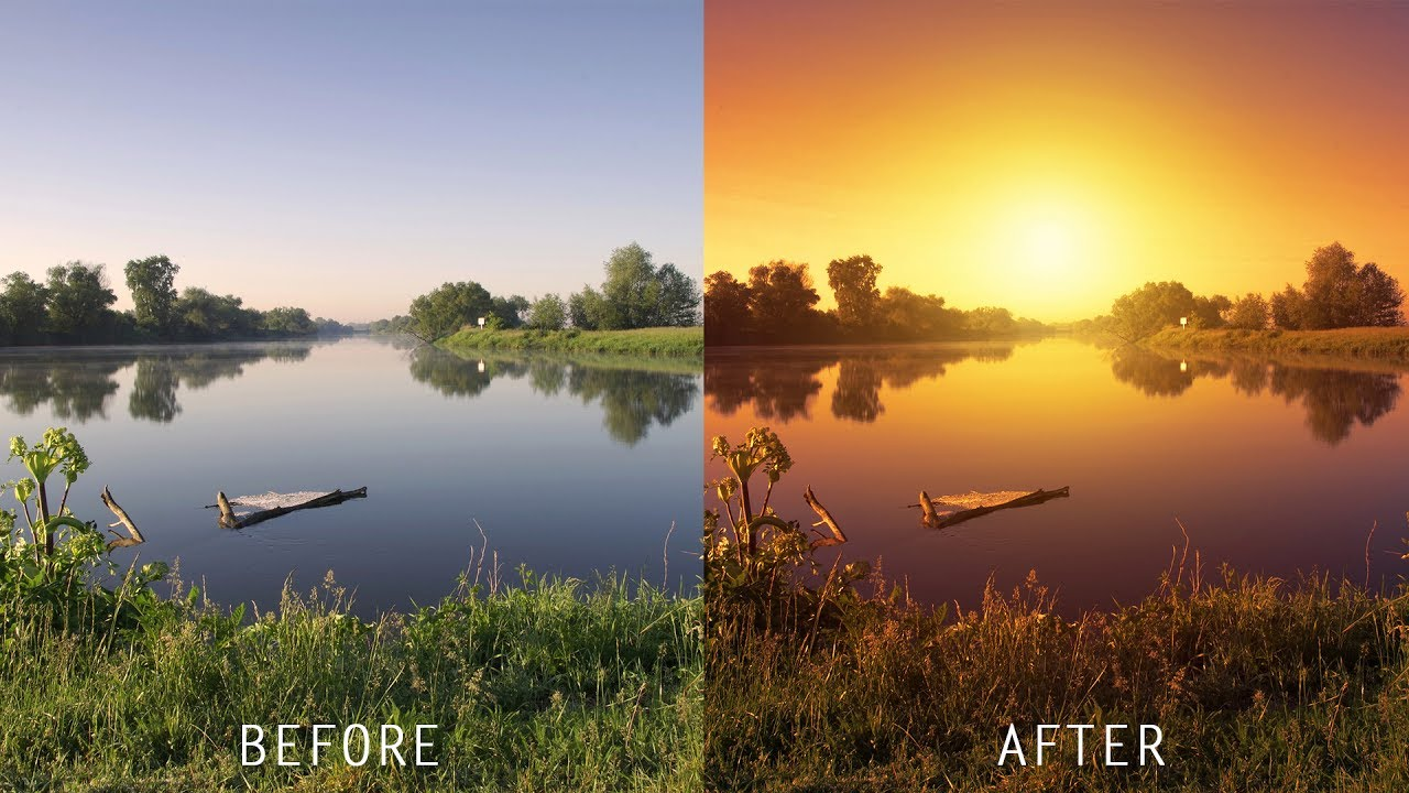 Manipulation tutorials for beginners pros page 4 of 13 psdesire how to create realistic sunset effect in photoshop baditri Gallery