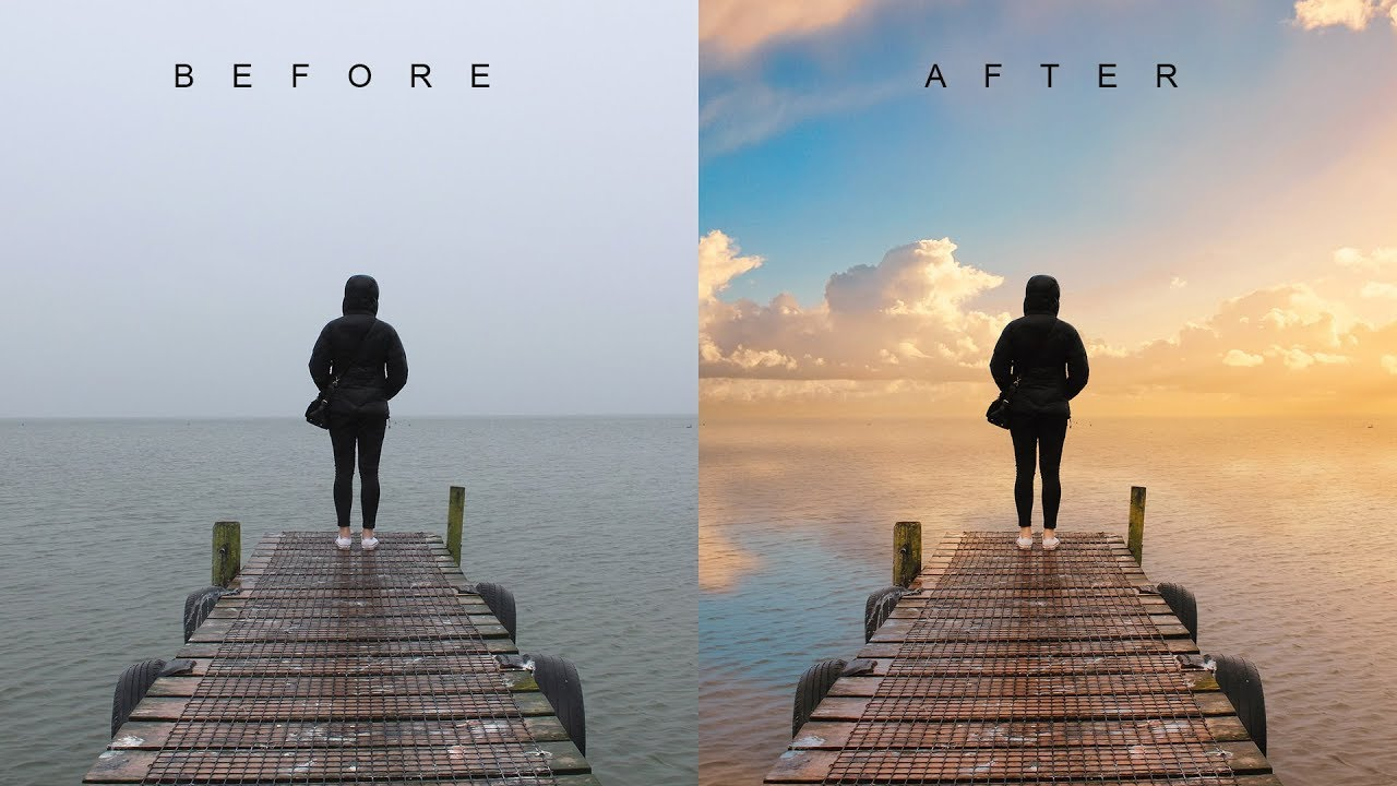 How to Change Overcast Sky Photos into Awesome in Photoshop