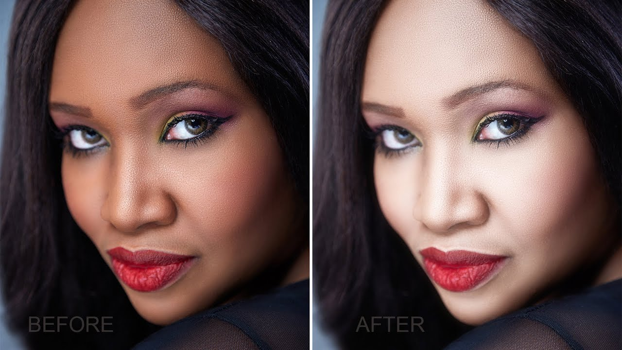 How to Change Person's Skin Color from Dark to Light in Photoshop