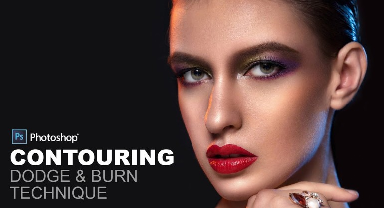 How to Contouring Dodge and Burn in Photoshop