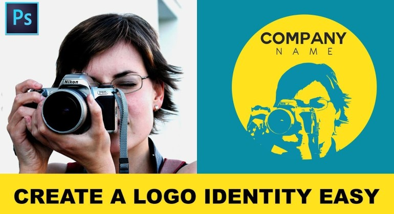 How to Convert Photos into Illustrative Logo in Photoshop