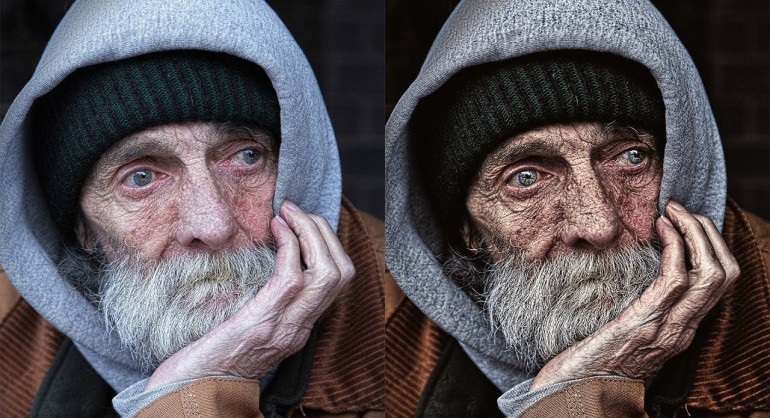 How to Create Dragan Style Portrait Effect in Photoshop