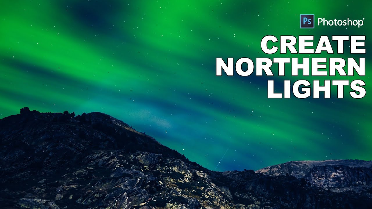 How to Create Fake Northern Lights Effect in Photoshop