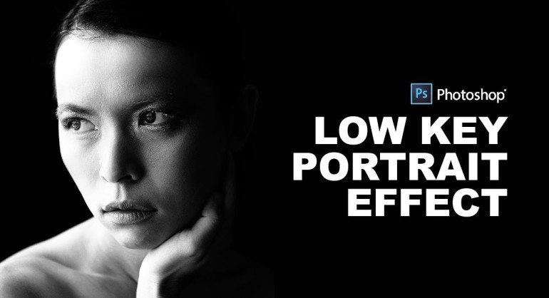 How to Create Low Key Lighting Portrait Effect in Photoshop